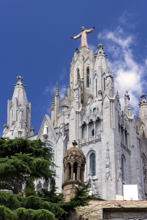 Temple of Atonement of the Sacred Heart Tibidabo  Barcelona photo