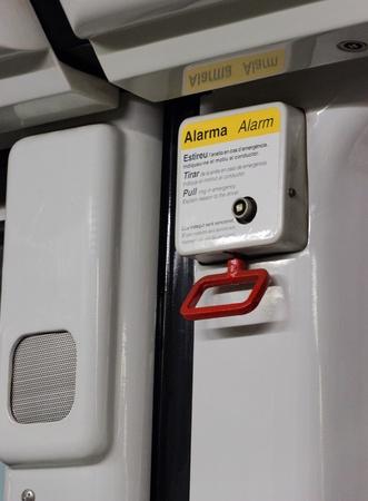 metro alarm ring in emergency Stock Photo - 17182117
