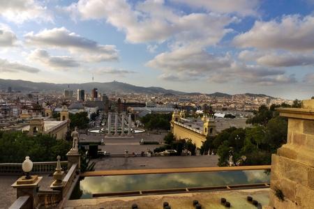 Placa De Espanya, Barcelona. Spain Stock Photo - 17465602