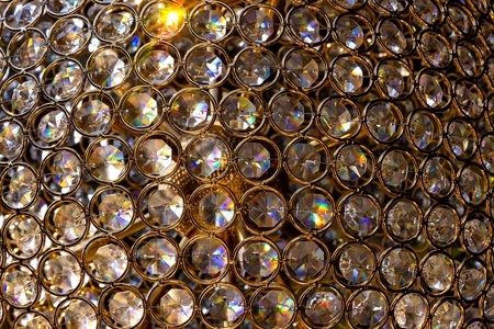 gold, diamonds, crystal background photo