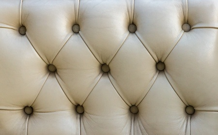 vintage white leather texture background  photo