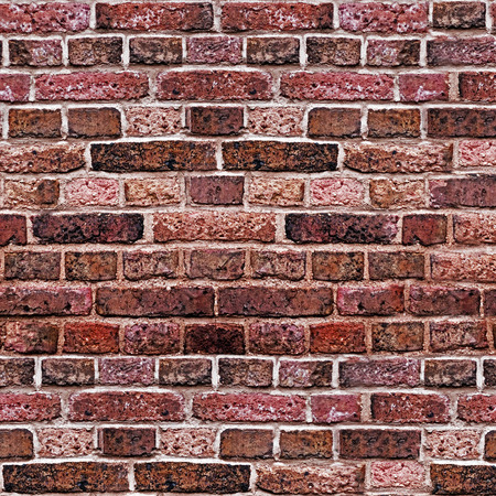 brick wall square red texture Stock Photo - 22520459