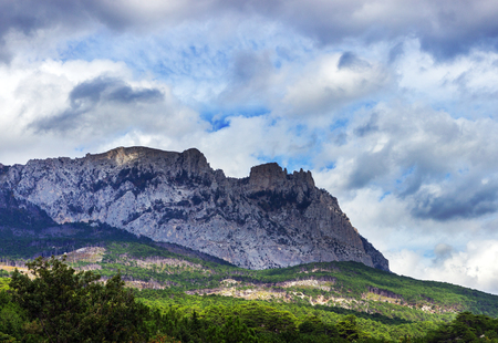Ay-Petri mountain in Crimea, Ukraine. photo