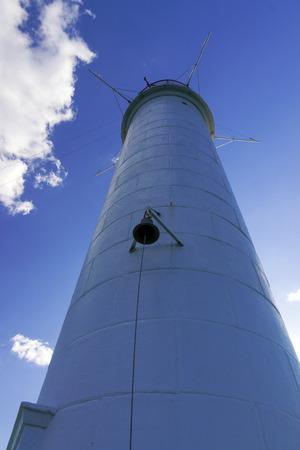 vorontsov: Vorontsov old lighthouse in Odessa harbor, Ukraine