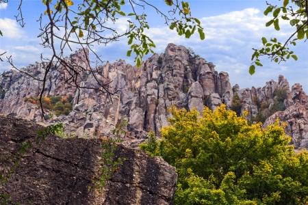 mountain in Crimea, Ukraine.