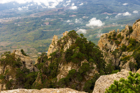 hill of tara: mountain summer landscape  Crimea, Ukraine