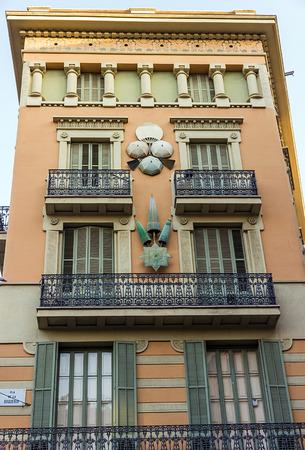 ramblas: Barcelona Casa Bruno Quadros in the Ramblas
