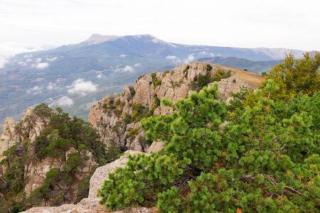 hill of tara: mountain landscape. Crimea