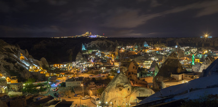 dirtied: The cityscape view over Goreme, Cappadocia, Turkey