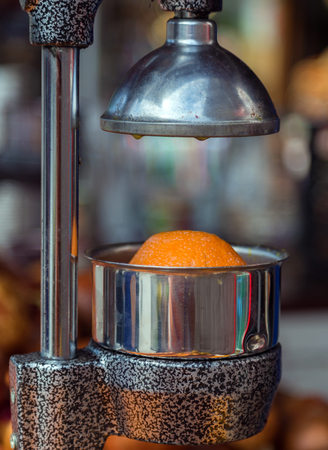 winepress: fresh juice citrus metallic