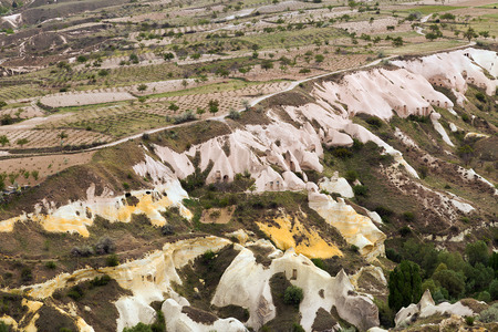 landscape valley Cappadocia, Turkey photo