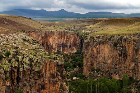 Ihlara valley in Cappadocia, Turkey photo