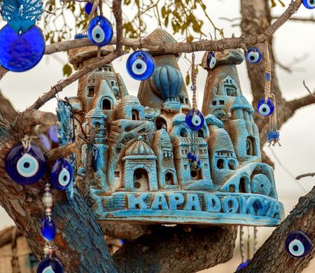 monastic sites: Goreme Open Air Museum souvenirs, Turkey Stock Photo