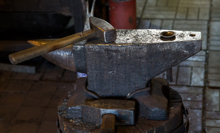 smithy: the anvil on the smithy - handcrafter