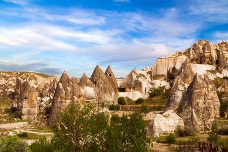 Cappadocia, Kapadokya, Katpatuka mountain landscape Turkey