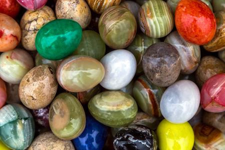 onyx: stone colored onyx easter eggs