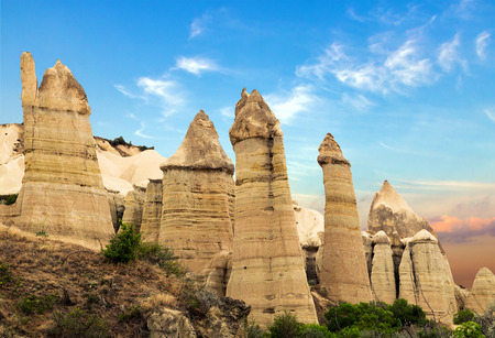 Love valley in Goreme, Cappadocia, Turkey