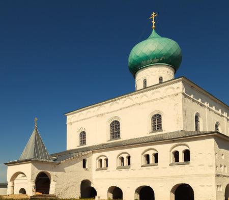 Holy Trinity Church St  Alexander of Svir Monastery  Leningrad Oblast  Russia photo
