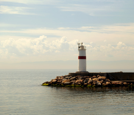 kadikoy: Lighthouse in marmara sea Istanbul, Turkey