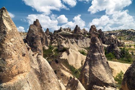 goreme: Goreme Sandstone formations in Cappadocia, Turkey