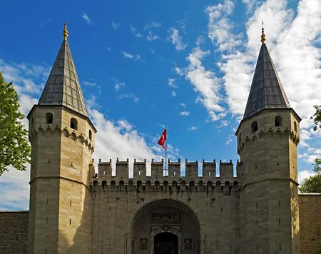 salutation: Gate of Salutation of Topkapi Palace. Istanbul, Turkey.