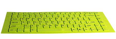 dewdrop: keyboard computer green field with dewdrop