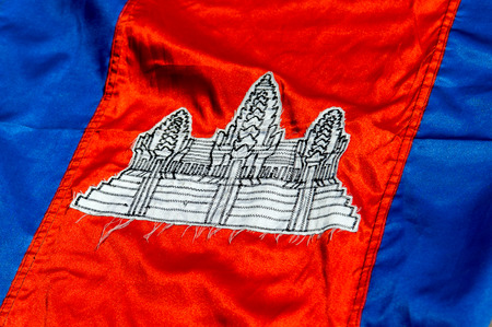 cambodia: Flag of Cambodia background