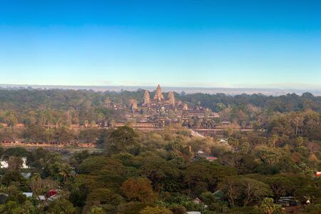 panorama Angkor Wat, Siem Reap, Cambodia.