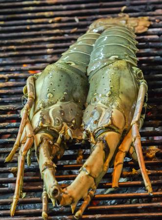 prepared: lobster prepared Grill cooking seafood