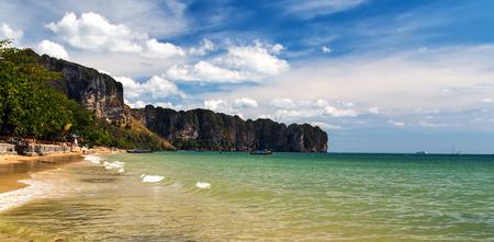 aonang: tropical beach beauty seascape Thailand Ao-Nang Stock Photo