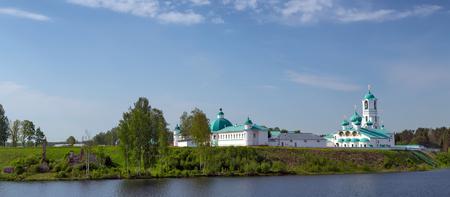 cappella: La Santa Trinidad de San Alejandro de Svir Monasterio. Provincia de Leningrado, Sloboda Stáraya, Rusia