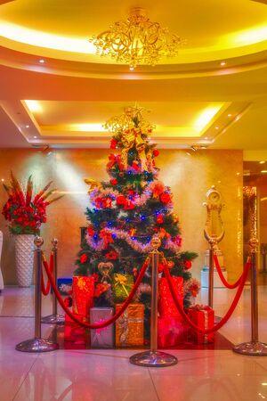 christmas house: Christmas interior house