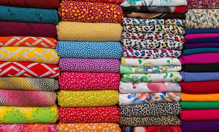 canva: Textile Cloth and tissue of various colours market