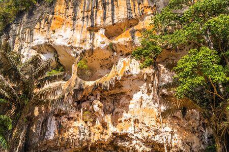 mountain cave tropics landscape Krabi, Thailand