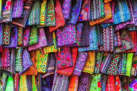 tribal design: fashion textile silk handcraft bag