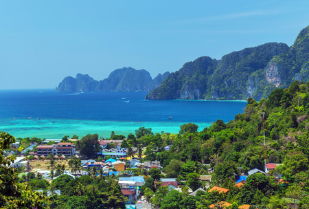 Koh Phi Phi Don in andaman sea, Phuket, Krabi, South of Thailand.