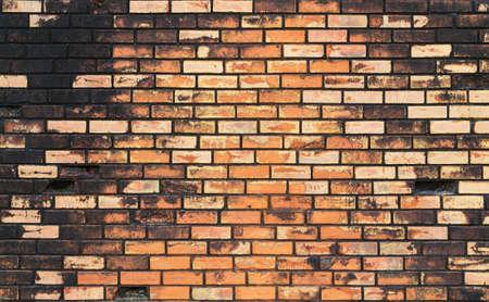old brick wall: old vintage brick wall Stock Photo