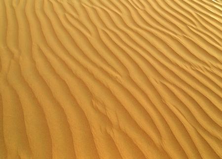 Trockene Wüsten-Sanddünen Hintergrund