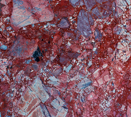 Red Natural Marble pattern texture abstract background, tile surface of marbles slate, granite stone from nature.