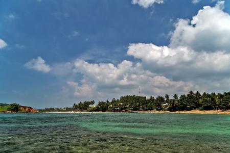 Parrot Rock Mirissa tropical beach is our favourite beaches in Sri Lanka