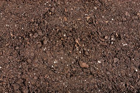 organic soil close up surface background Reklamní fotografie