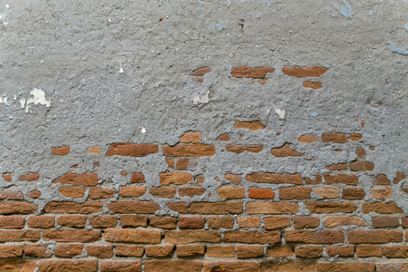 brick wall background red urban building