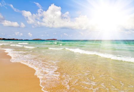 sunshine sea beach summer nature landscape tropical vacation