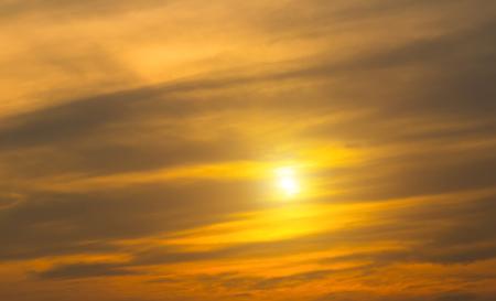 Sunset sky background beautiful