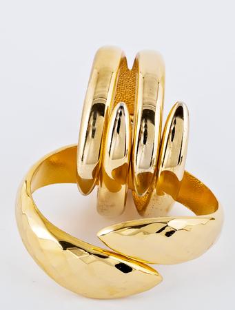 bracelet gold jewelry jewellery ornaments 写真素材