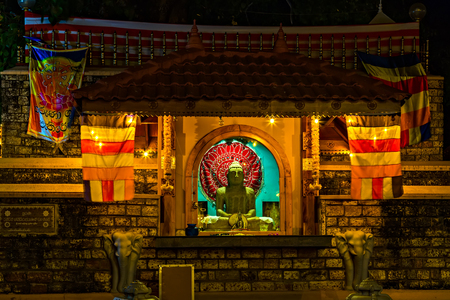 Buddhist Temple In the island of Sri Lanka lays Kandy City. The crown jewel of the city is the famed Sri Dalada Maligawa, also known as the Temple of the Tooth.