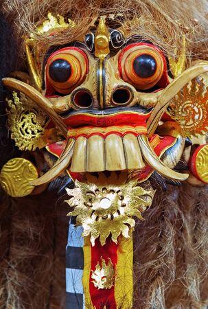 smile devil head monster mask Home Decor background