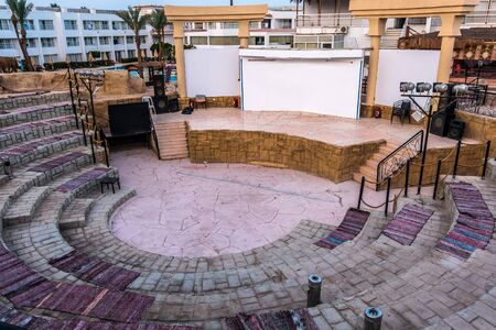 Amphitheater ancient scene arena building roman theater outdoor seating Carpet