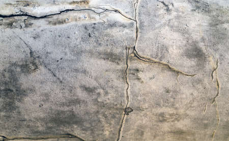 Abstract​ of​ surface​ concrete​ old wall texture horizontal design
