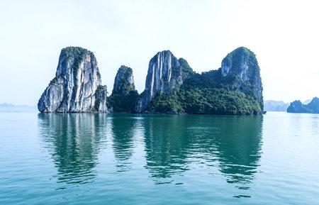 bay ha long vietnam halong asia landscape southeast